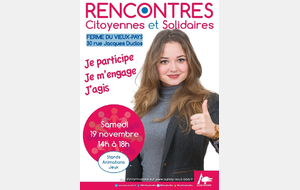 Rencontres citoyennes et solidaires
